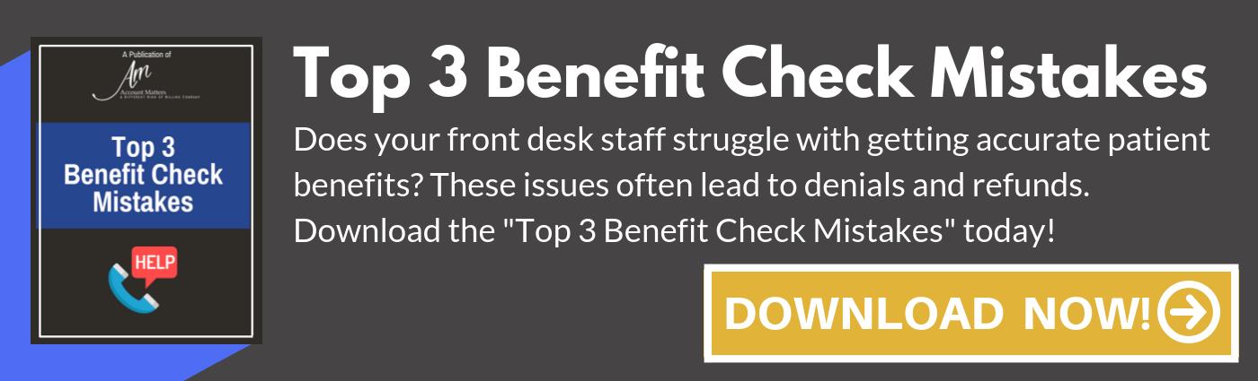 Benefit Check Mistake CTA